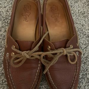 Sperry Shoes - Women's Sperry Gold Cup 2-eye Tan loafers size 7